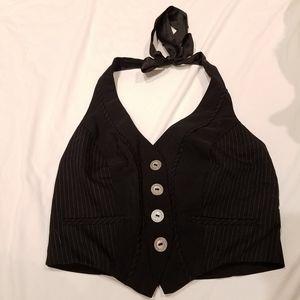 Bke Black short vest size S